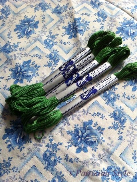 bucilla green