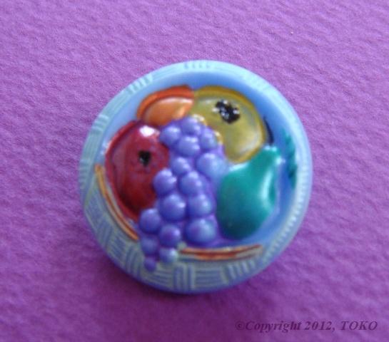 button fruit blue