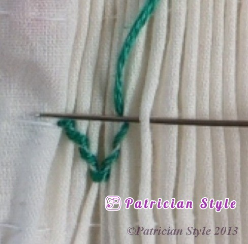 trellis stitch 2step10