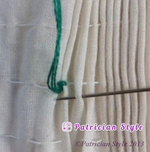 trellis stitch 2step5