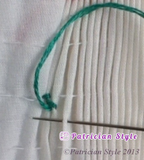 trellis stitch 2step6