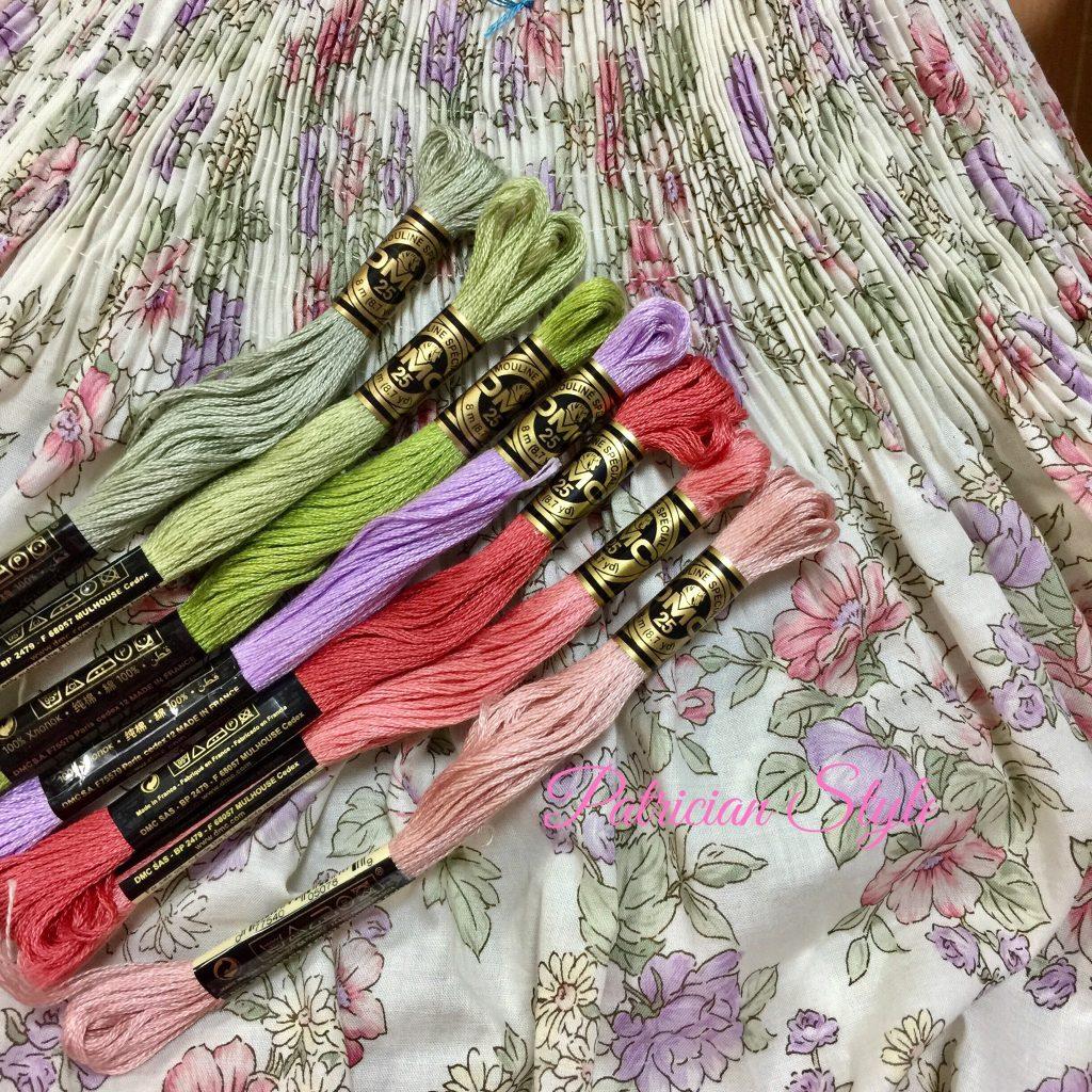 YUWA fabricとDMC